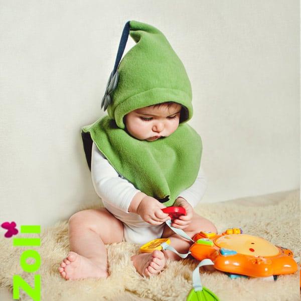 capuchon bébé polaire taille bébé