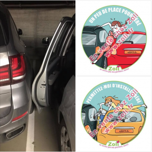 Stickers for car (Pregnancy and baby carseat)